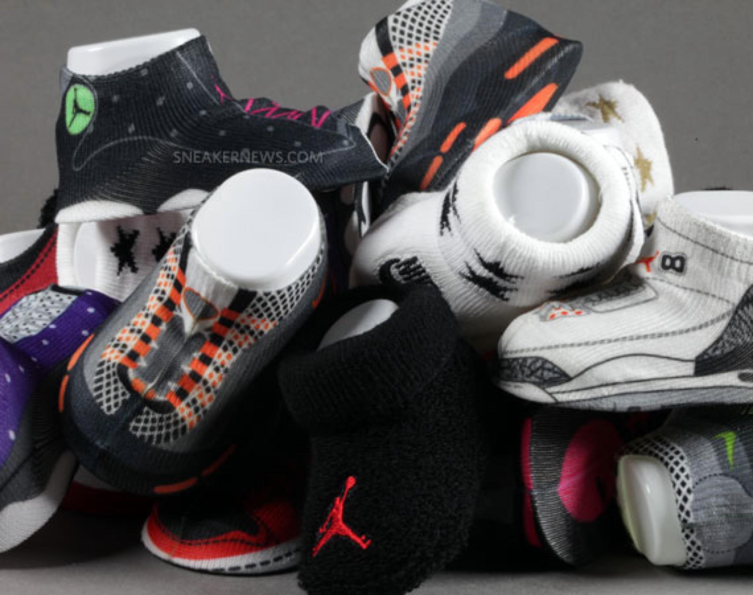 Air Jordan baby socks