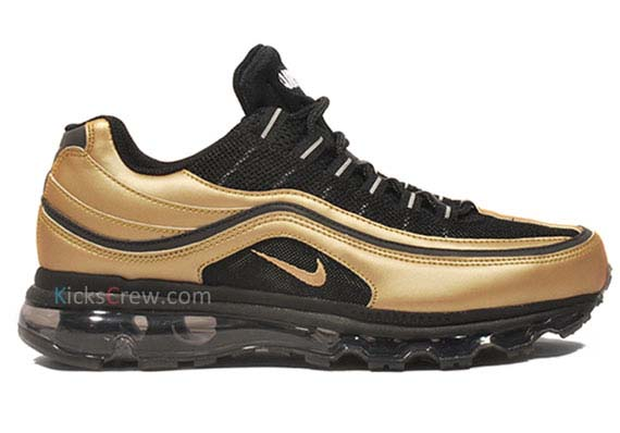 Air Max Black And Gold