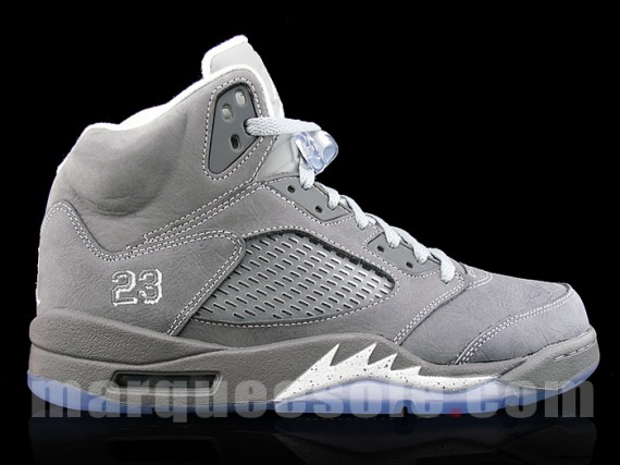 "fea9543471abee Air Jordan V Retro ""Wolf Grey"""