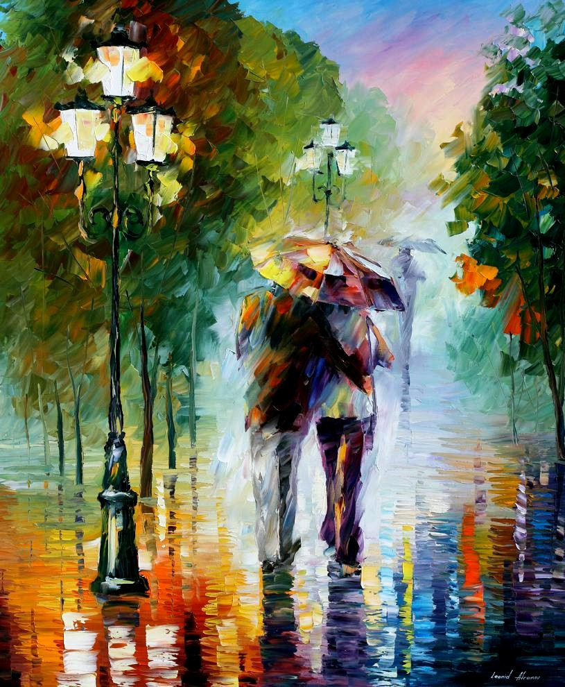 New Leonid Afremov Paintings | The Mind of SJB
