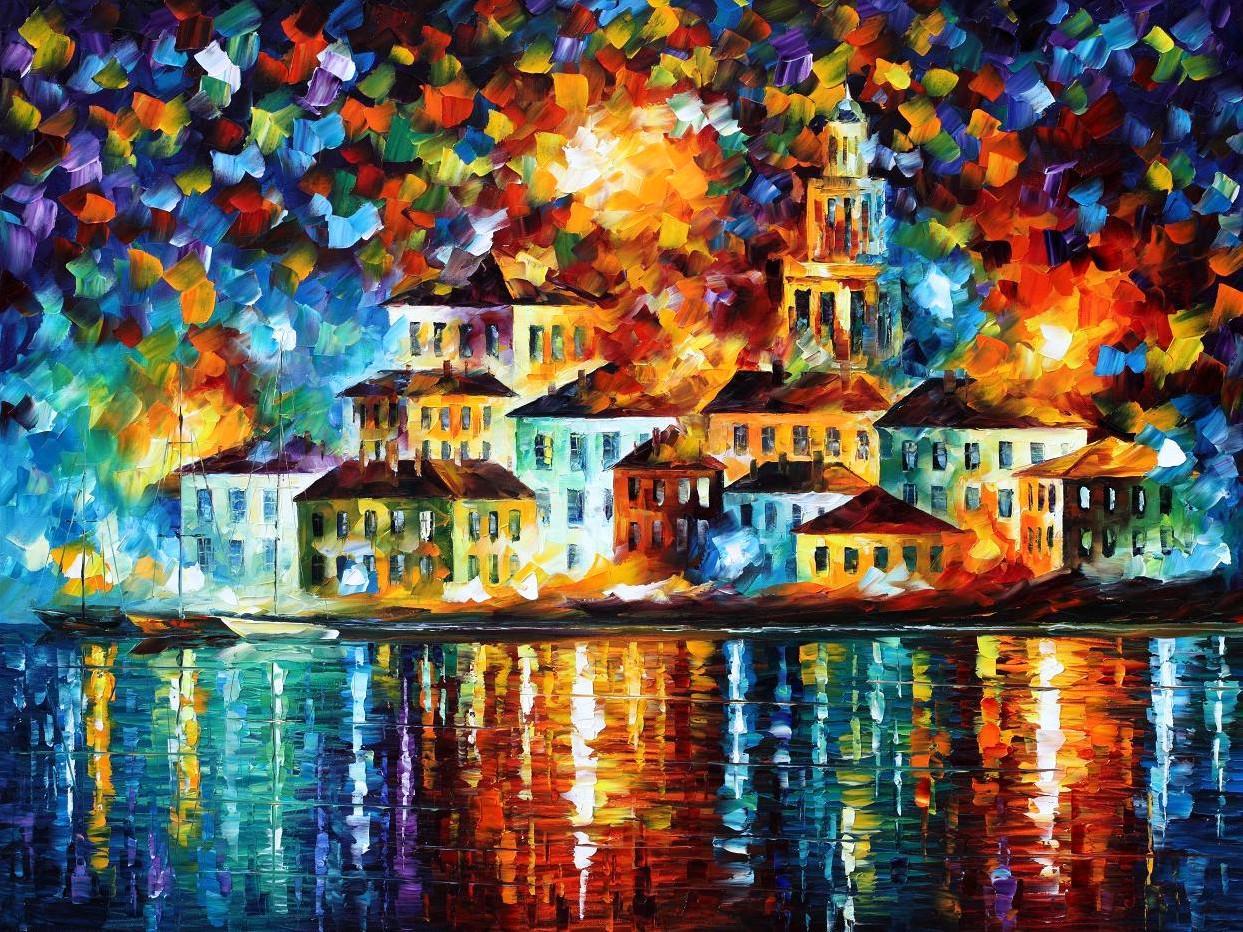 New Leonid Afremov Paintings The Mind Of Sjb